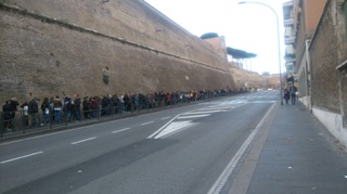 vatican queue